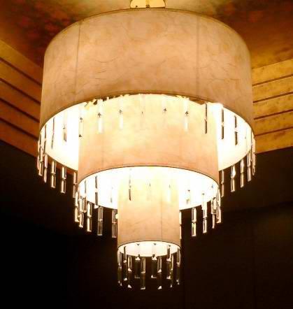 TPY-L0016 барабан люстра свет из китая