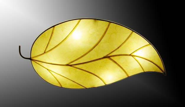 TPY-L053 лист стиль ткань барабан люстра свет сделан в китае