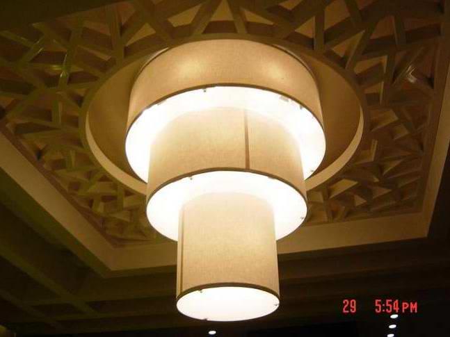 TPY-L059 барабан люстра свет из Китая
